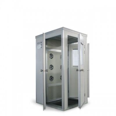 LB-1D洁净风淋室单人单吹转角风淋室