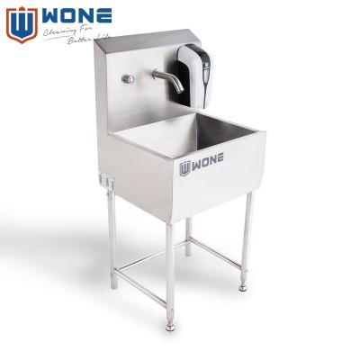 PHW-11A 单工位不锈钢感应洗手池