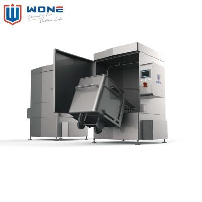 EBW-21S不锈钢斗车自动清洗机